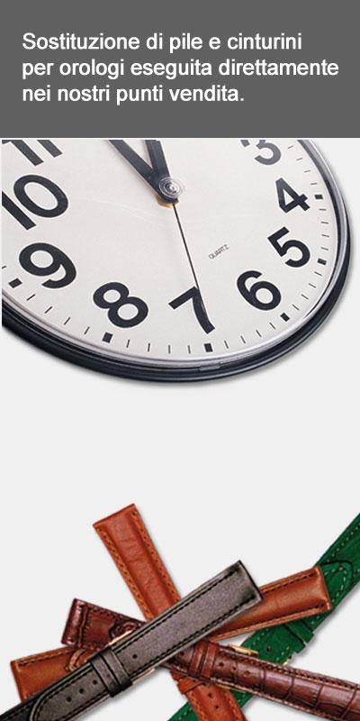 cinturini e pile per orologi